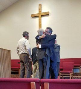 Installation Pastor Tim Rackley